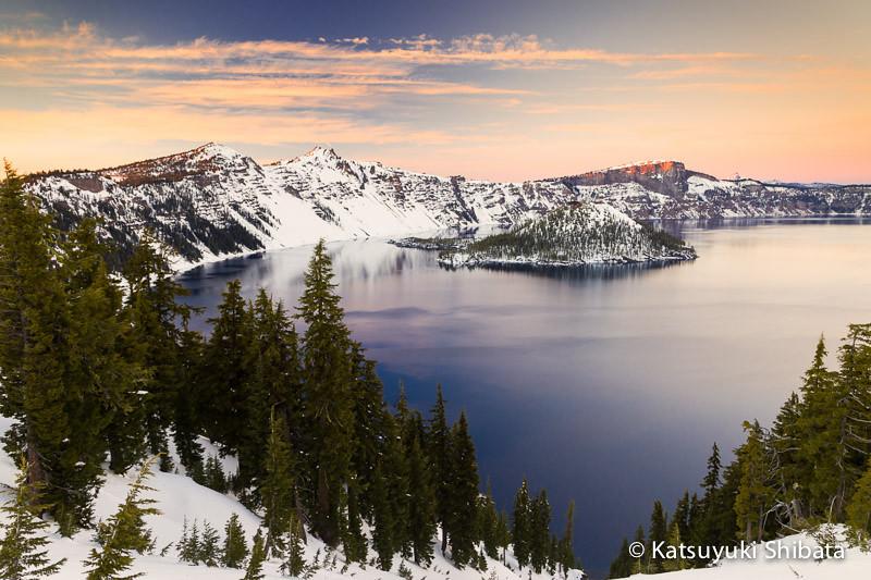 GC-097: Twilight at Crater Lake #2