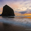 GC-141: Haystack Rock Sunset