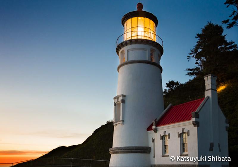 GC-128: Heceta Head Lighthouse, Evening