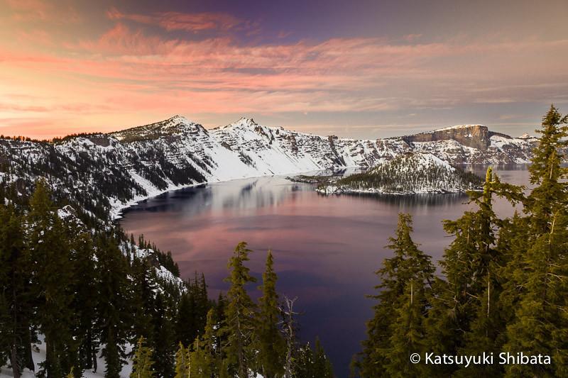 GC-096: Twilight at Crater Lake