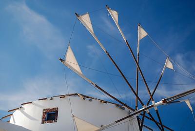 """""""Santorini Windmill""""  (#TR510)"""