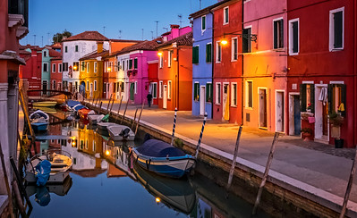 """Burano At Twilight""  (#TR504)"