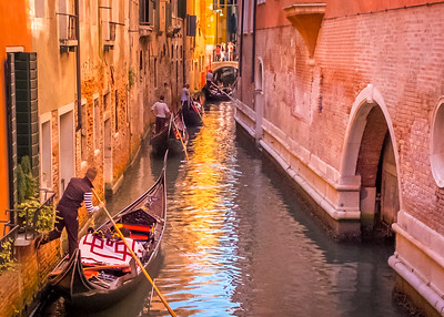 """Venice Gondoliers""  (#TR513)"