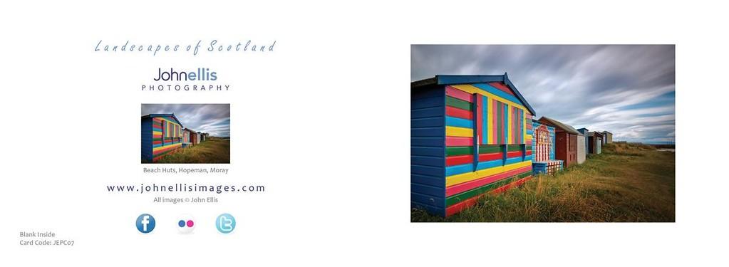 Beach Huts, Hopeman, Moray