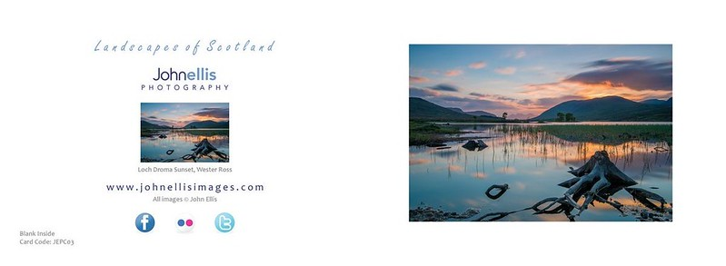 Loch Droma Sunset, Garve, Ross-shire