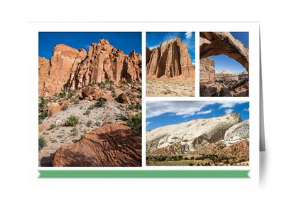 Card- Capitol Reef Theme