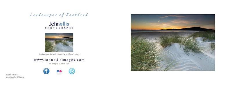 Luskentyre Sunset, Luskentyre, Isle of Harris