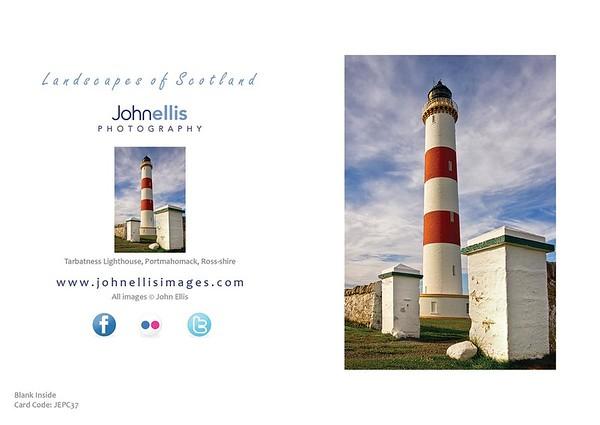 Tarbatness Lighthouse, Portmahomack, Ross-shire