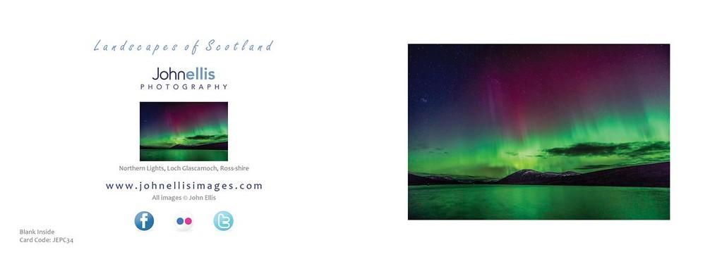 Northern Light, Loch Glascarnoch, Ross-shire