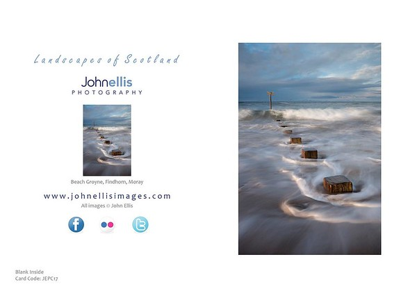 Beach Groyne, Findhorn, Moray