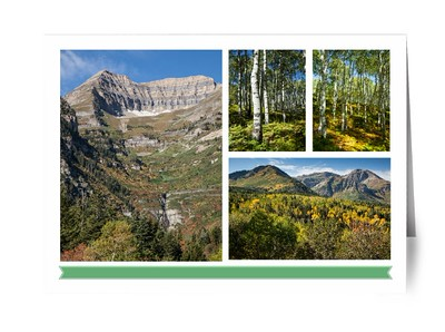 Card - Mount Timpanogos Theme