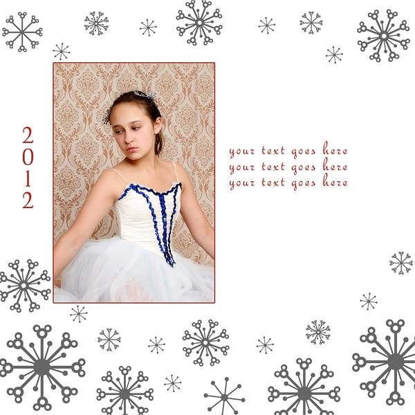 Letterpress Snow