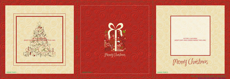 Christmas Gifts 5x5 trifold front