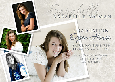 Greeting Card Templates-HS Senior