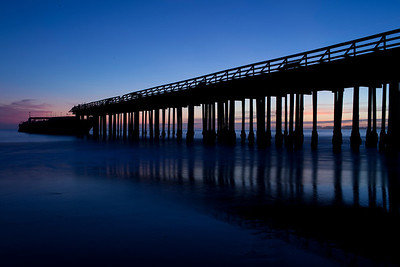 Seacliff State Beach - ship, California