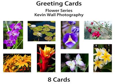 Flower Series Greeting Card Set