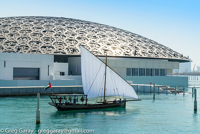 Louvre Abu Dhabi installation. Photo credit: Greg Garay