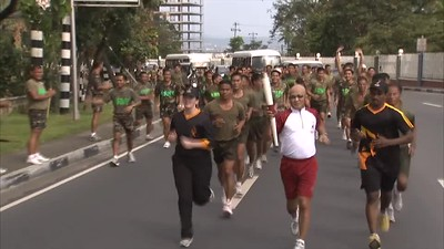 Asian Games Torch Relay - Highlights (4 mins)