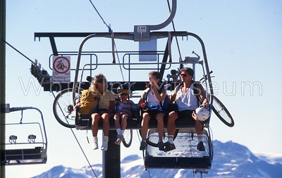 Griffith 36 - Quad Chair Summer Blackcomb