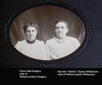 Flora Gregory Harriett Chaney Williamson
