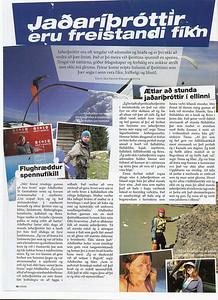 Opnuviðtal við Maggý, Tinnu, Aðalheiði og einhverja stelpu í vikunni í júní 2008. Fyrri síðan með Aðalheiði og Tinnu.