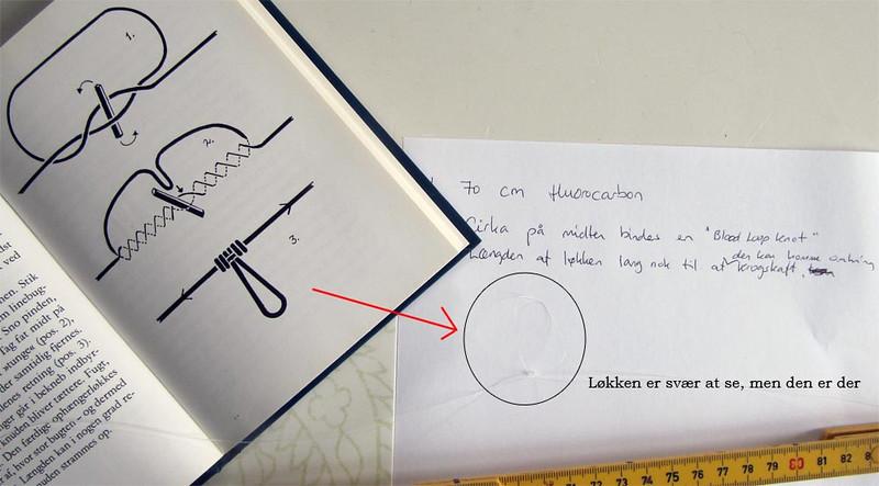 Hovedkrogen kan udskiftes hvis der anvendes et dropper loop som ved fladfiskeforfang