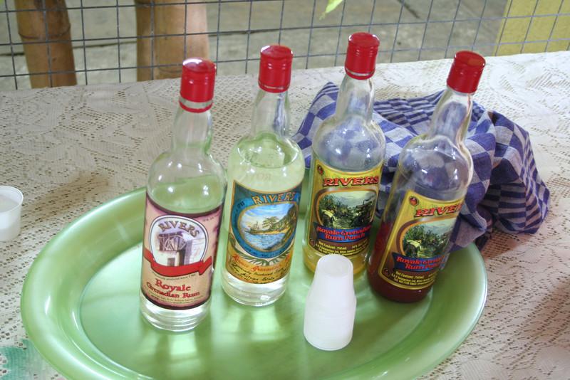 Rum tasting. It's all bad...