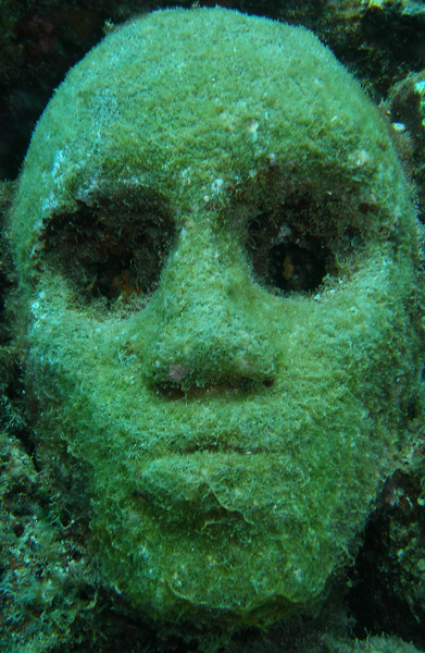 At the Underwater Sculpture Park, Molinere