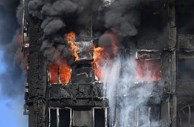 Britain London Fire