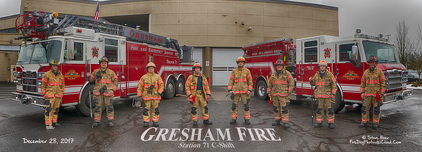 Gresham, OR Fire Department, Station 71 C-Shift