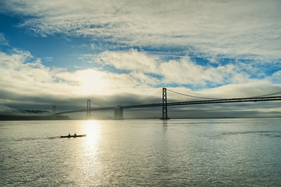 Bay Bridge Morning