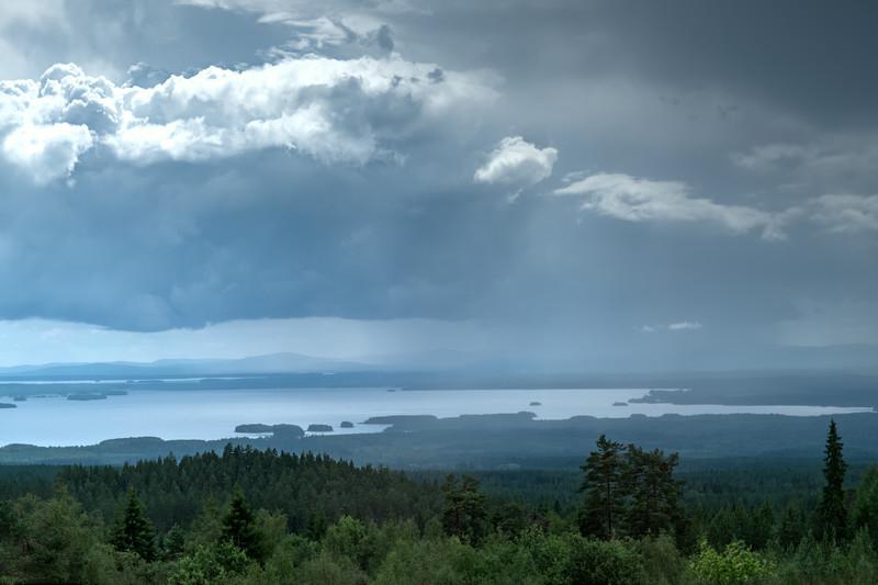 Rain over Siljan