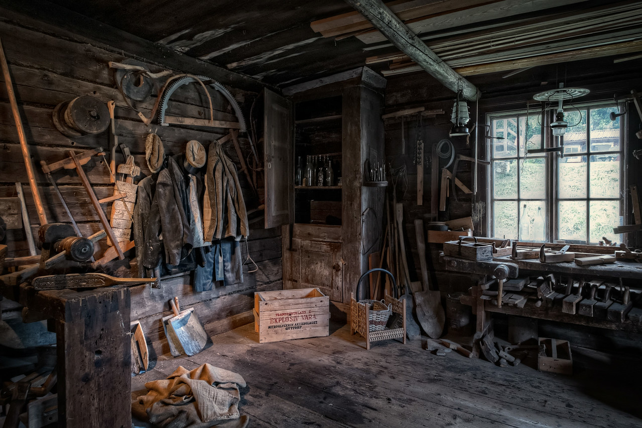 Workshop in the  Mill
