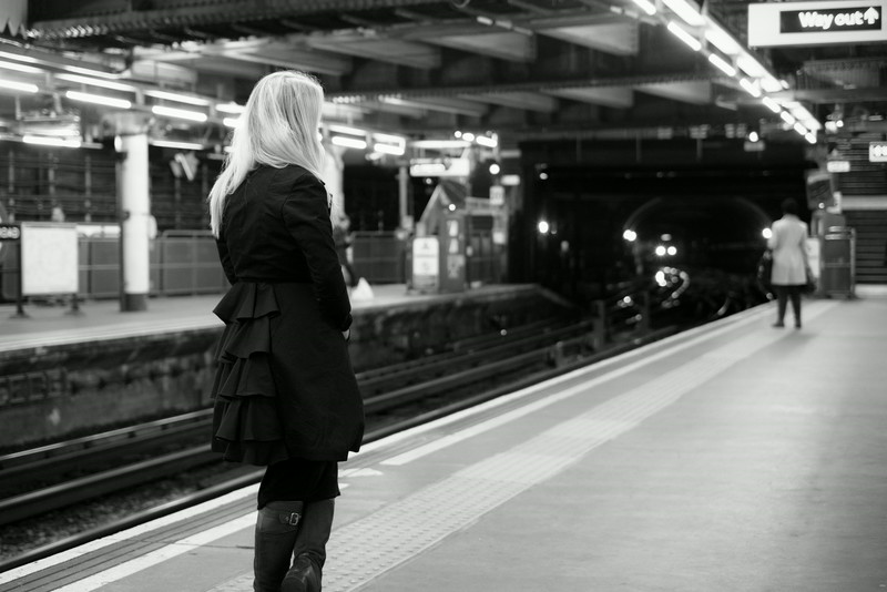 Waiting for the Bakerloo line