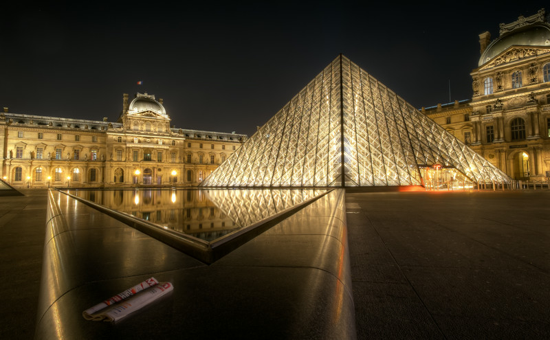 The Louvre by Night
