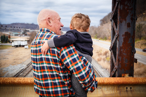 Trainspotting with Pow Pow