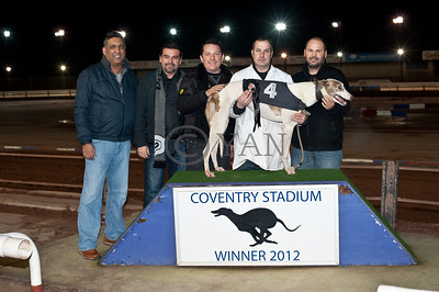 Mr Sandhu and friends with Droopys Alfie