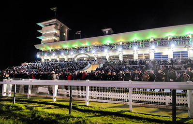 Towcester entertains a huge crowd for its opening fixture last Saturday. 6th December 2014. Photo: Steve Nash