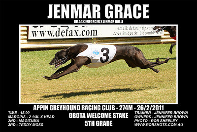 Appin Greyhounds - 26th February 2011