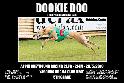 Appin Greyhounds - 29th May 2010
