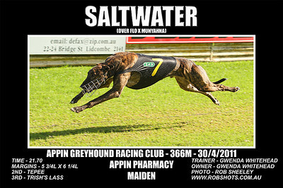 Appin_300411_Race07_Saltwater