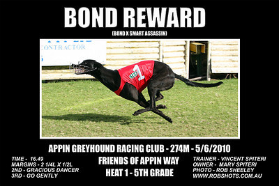 Appin Greyhounds - 5th June 2010