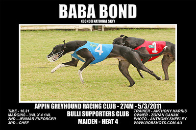 Appin_050311_Race05_Baba_Bond