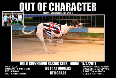 Bulli_110411_Race04_Out_Of_Character