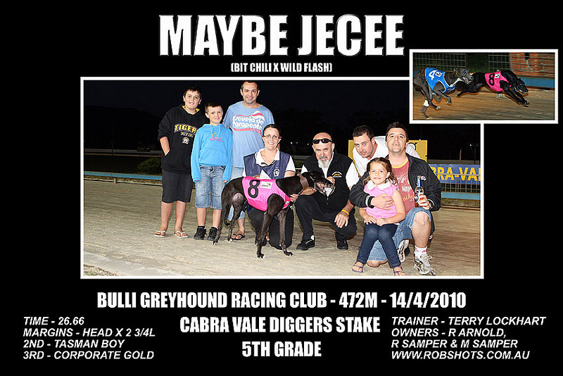 Bulli_Greyhounds_140410_Race_07_Maybe_Jecee_Group