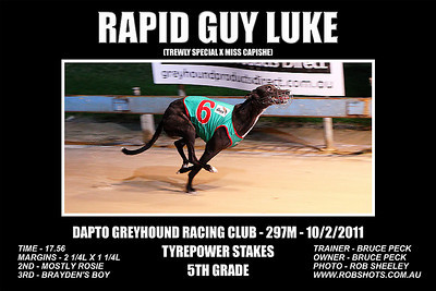 Dapto_100111_Race09_Rapid_Guy_Luke