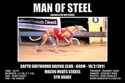 Dapto_100111_Race06_Man_Of_Steel