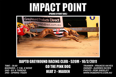 Dapto_100111_Race04_Impact_Point