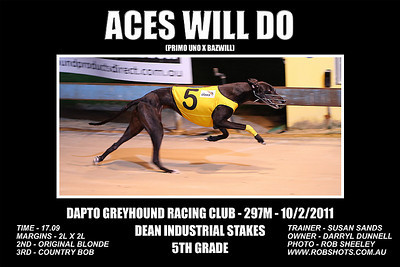 Dapto_100111_Race03_Aces_Will_Do
