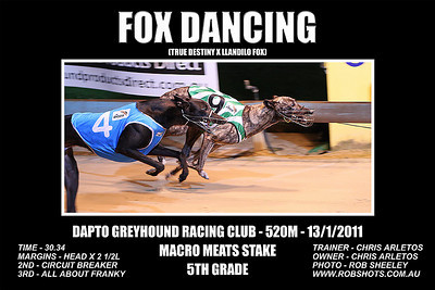 Dapto_130111_Race05_Fox_Dancing